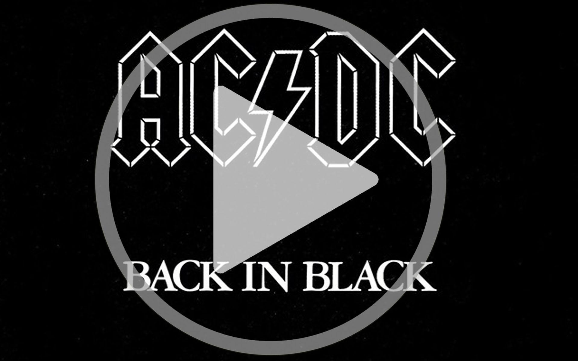 sonnerie black in black acdc