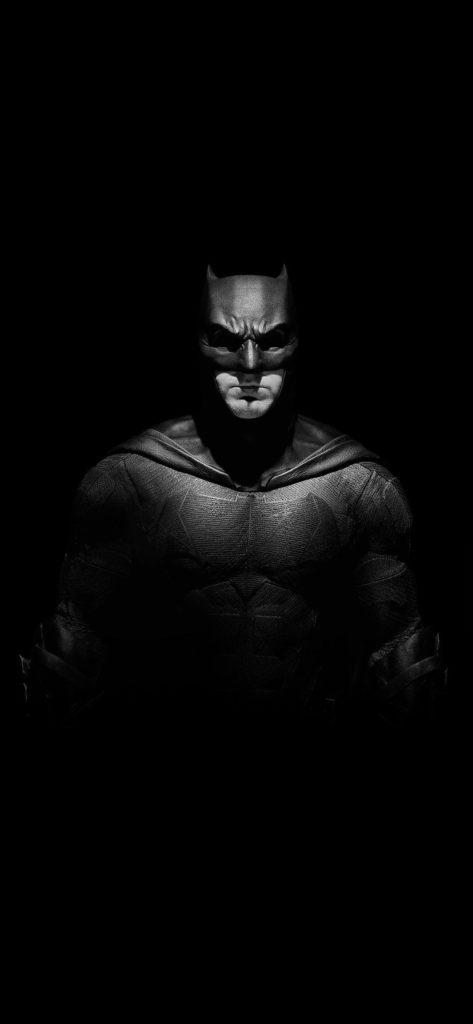 fond d'ecran batman noir