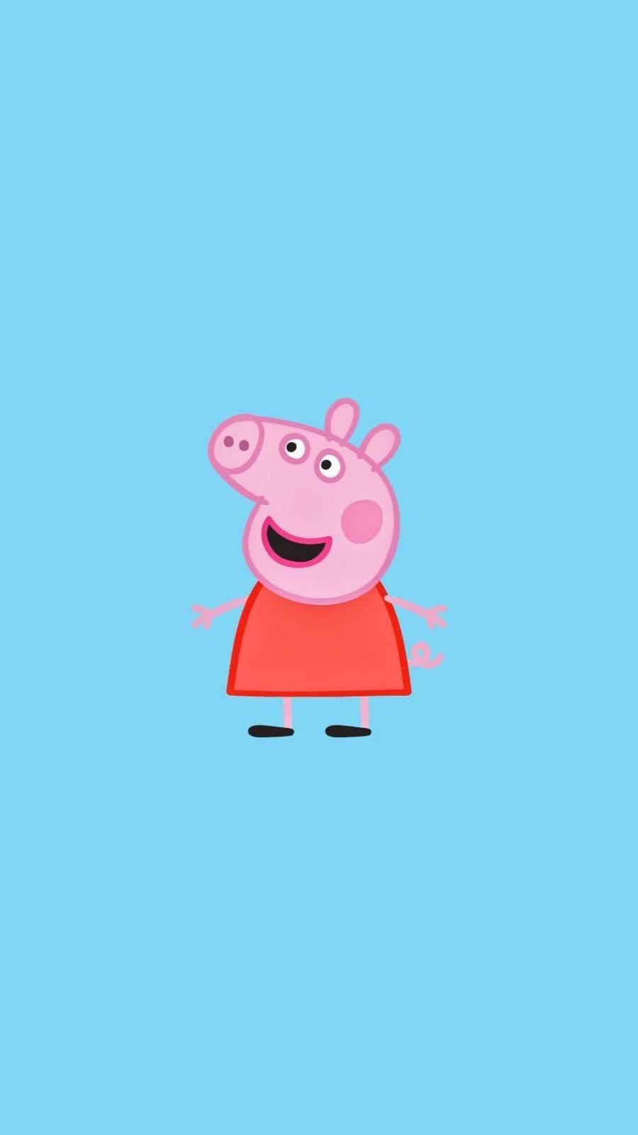 fond-decran-smartphone-Peppa-Pig